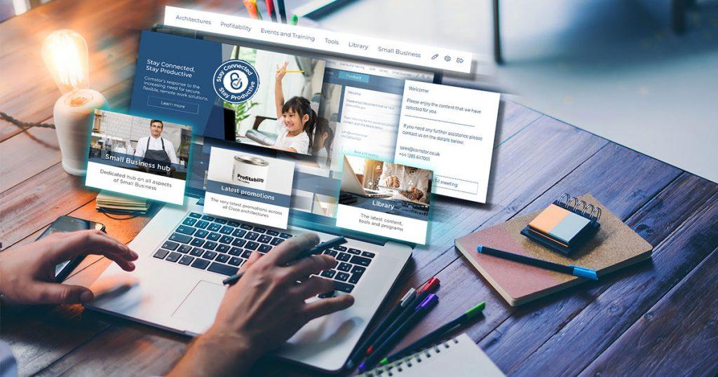 Comstor - portal de parceiros