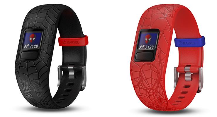 Garmin® e Marvel apresentam o vívofit® jr. 2 monitor de fitness infantil e aplicação móvel interativo com o Homem-Aranha da Marvel