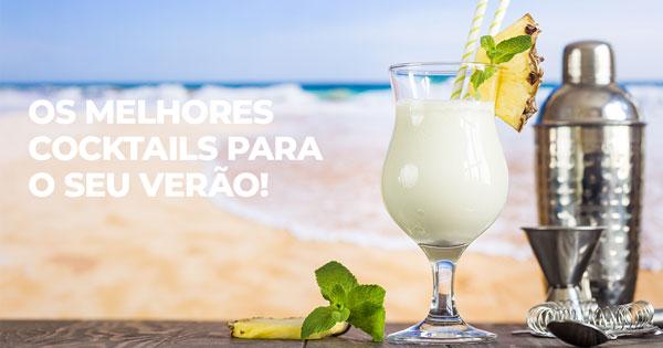 os melhores cocktails para este verão