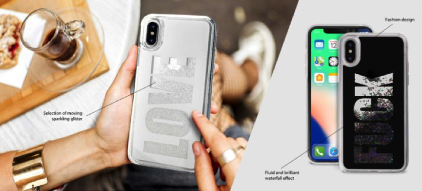 Puro lança Aqua Covers com Glitter para iPhone