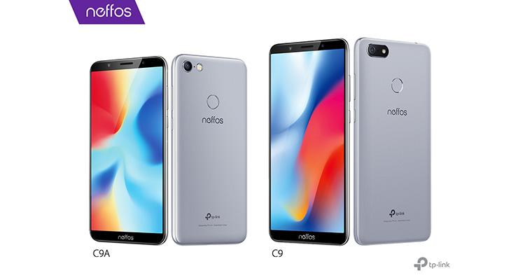 A TP-Link apresenta os Neffos C9 e C9A, os primeiros smartphones da marca com ecrã Full View